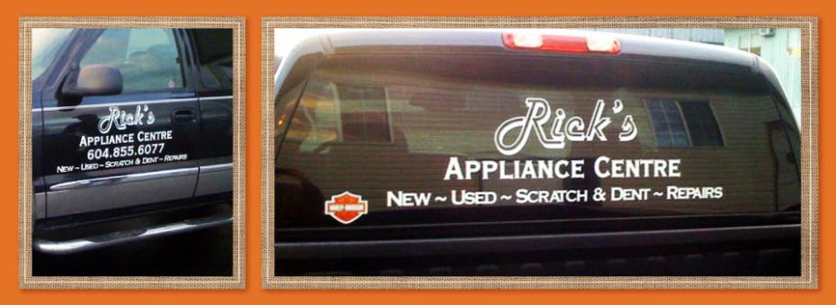 rick's applicance