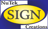 Nutek Sign Creations Logo