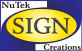 Nutek Sign Creations Logo